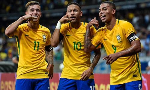 Neymarđược kỳ vọng sẽ tỏa sáng ở World Cup. Ảnh: AFP.