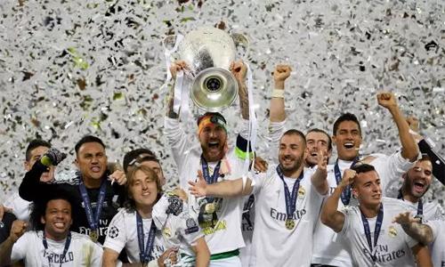 Real là đội đầu tiên bảo vệ thành công danh hiệu Champions League. Ảnh: Reuters.