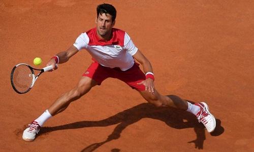 Djokovic hy vọng Rome Masters sẽ là bước chạy đà tốt trước Roland Garros. Ảnh: PA.