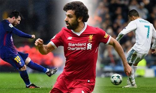 Trước Salah, rất nhiều ngôi sao đã trở nên lu mờ khi xuất hiện trong thời đại của Messi và Ronaldo.