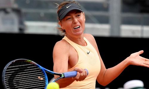 Sharapova tiếp tục hành trình ở Italy Mở rộng. Ảnh: WTA.