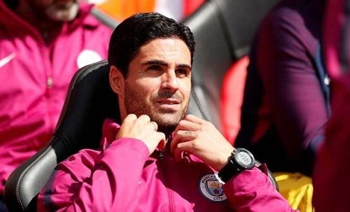 Arteta có 90% khả năng dẫn dắt Arsenal. Ảnh: Reuters.