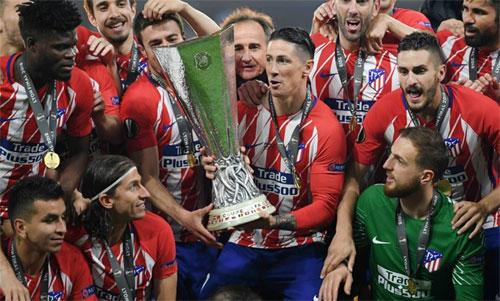 Đội hàng đầu Tây Ban Nha như Atletico chỉ có túi tiền ngang với đội nhỏ ở Ngoại hạng Anh. Ảnh: Reuters