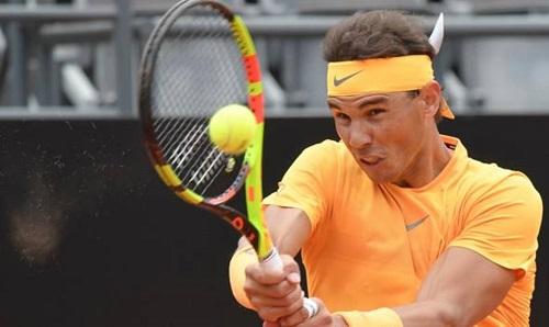 Nadal đòi lại món nợ ở Rogers Cup năm ngoáitrước Shapovalov. Ảnh: ABC.