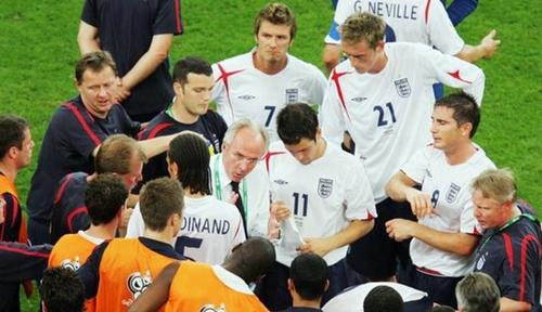 Eriksson dẫn dắt tuyển Anh trong vòng 5 năm. Ảnh: Reuters.