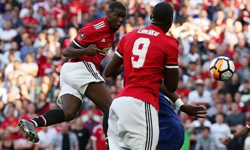 Những nỗ lực của Pogba và đồng đội không mang lại kết quả. Ảnh: Reuters.