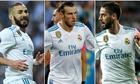 Zidane đau đầu với hàng công Real trước đại chiến Liverpool