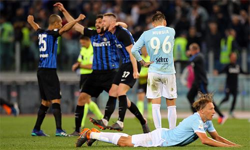 Lazio sụp đổ vào thời khắc họ cần tỉnh táo và tập trung nhất. Ảnh: UEFA.