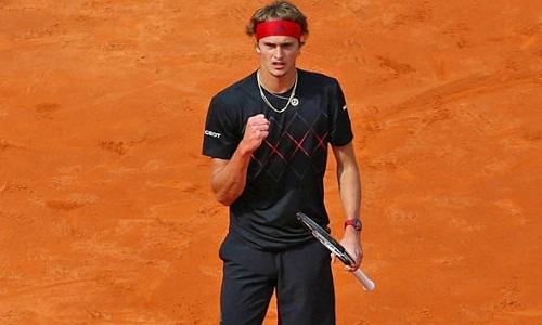 Zverev vẫn chưa có chiến thắng nào sau năm lần chạm trán Nadal. Ảnh: Reuters.