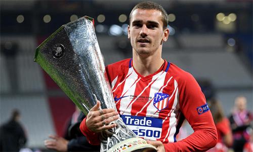Griezmann mới giúp Atletico giành Europa League. Ảnh: Reuters
