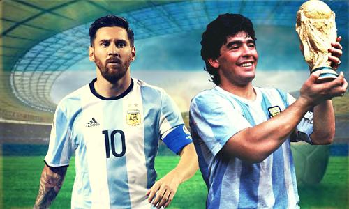 Messi trước cơ hội gần như cuối cùng để vô địch World Cup như Maradona. Ảnh: Calcio Mercato.