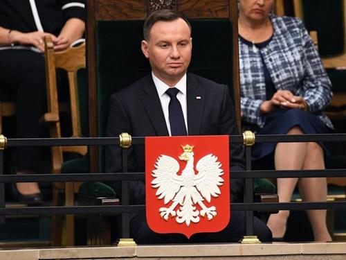 Tổng thống Ba Lan, Duda ủng hộ quyết định của Chính phủ Anh. Ảnh: Reuters.