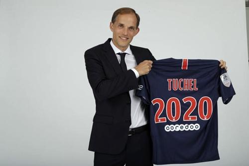Tuchel ký hợp đồng với PSG đến hè 2020. Ảnh: Reuters.