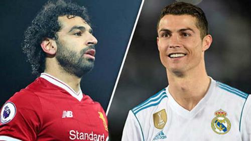 Salah và Ronaldo sẽ chiến đấu cho chiếc cup danh giá nhất châu Âu. Ảnh:Reuters.