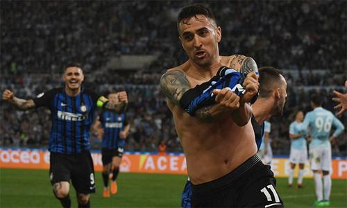 Inter trở lại Champions League sau sáu năm vắng bóng