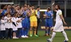 Andrea Pirlo được tri ân trong trận cầu có 14 bàn thắng