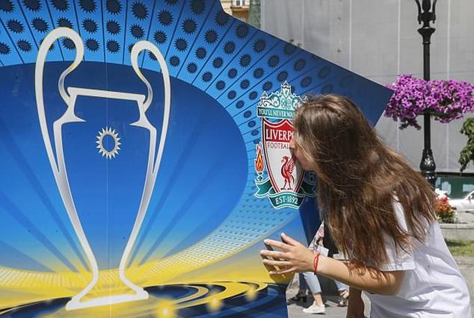 Kiev bận rộn chuẩn bị cho chung kết Champions League