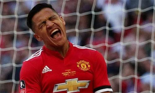 Sanchez chưa thể trở thành một ngôi sao tại Man Utd. Ảnh: Reuters
