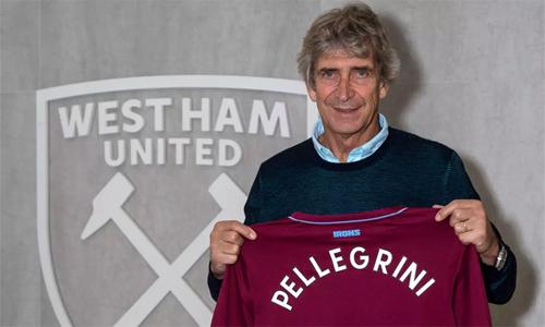 Ngoại hạng Anh đón thêm một ngôi sao trên ghế huấn luyện là Pellegrini. Ảnh: WHU.