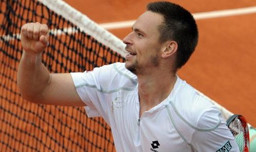 Soderling hai lần vào chung kết Roland Garros. Ảnh: AFP.