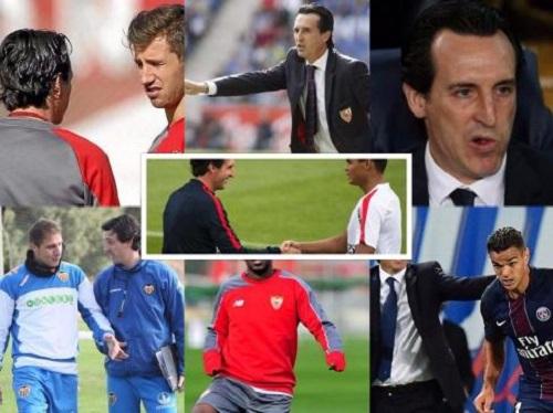 Học trò thường phát sợ Emery. Ảnh: EstadioDeportivo.