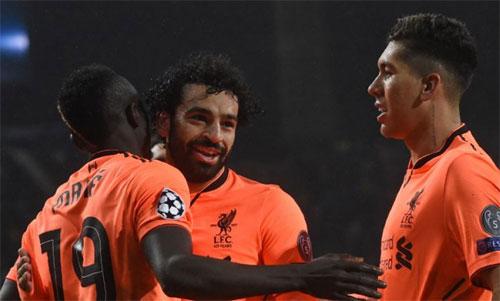 Mane, Salah và Firmino đang có phong độ cao trong màu áo Liverpool. Ảnh: Reuters