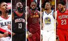LeBron James lập kỷ lục 12 lần vào đội hình tiêu biểu NBA
