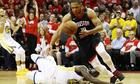 Rockets đẩy Warriors tới sát miệng vực tại chung kết miền Tây