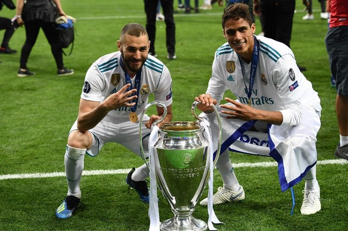 Real Madrid hân hoan trên đỉnh Champions League