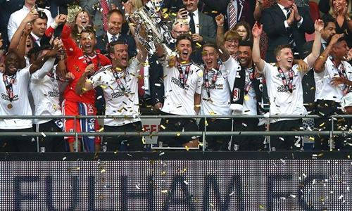 Fulham là người thắng cuộc trong trận cầu được xem là giá trị nhất hành tinh. Ảnh: AFP.