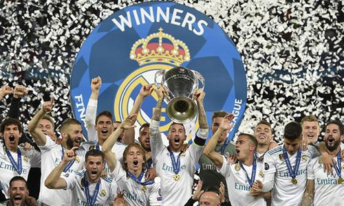 Real Madrid vô địch Champions League năm thứ ba liên tiếp