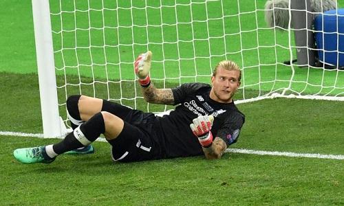 Karius mắc sai lầm nghiêm trọng trong trận chung kết. Ảnh: AFP.
