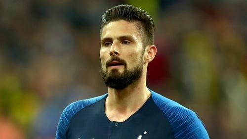 Giroud là một trong số những chân sút hiệu quả nhất của đội tuyển Pháp trong lịch sử. Ảnh: AFP.