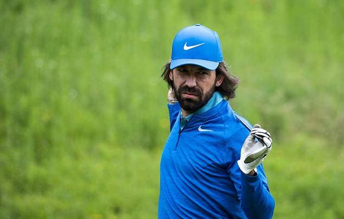 Pirlo, Nedved, Guardiola chơi golf từ thiện