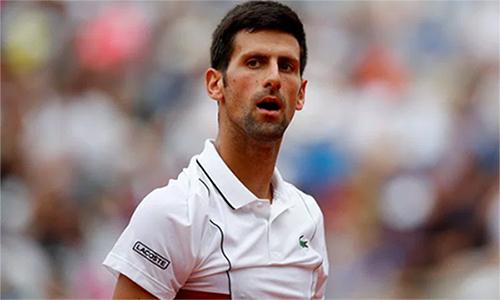 Djokovic vất vả qua hai vòng đầu, dù chưa thua set nào. Ảnh: Reuters.