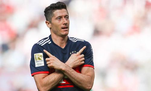Lewandowski đang một thách thức mới, thay vì tiếp tục làm bá chủ Bundesliga với Bayern. Ảnh: Reuters