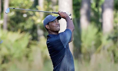 Tiger Woods tập luyện sớm ở Shinnecock Hills với mục tiêu chơi tốt ở US Open năm nay. Ảnh: Golf Channel.