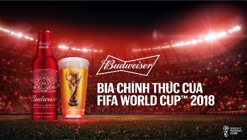 World Cup 2018: Budweiser khởi động chiến dịch lớn trên toàn cầu