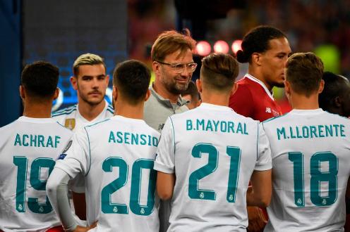 Klopp trong trận chung kết Champions League với Real. Ảnh:AFP.
