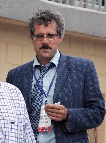 Rodchenko khi còn là người đứng đầu phòng thí nghiệm chống doping Moscow.