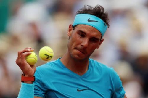 Nadal ghi 39 điểm winner nhưng cũng mắc tới 29 lỗi đánh hỏng. Ảnh:Reuters.