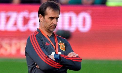 Lopetegui tin rằng lối chơi của Tây Ban Nha đã được nâng cấp so với khi bị loại ở Euro 2016. Ảnh: AFP.