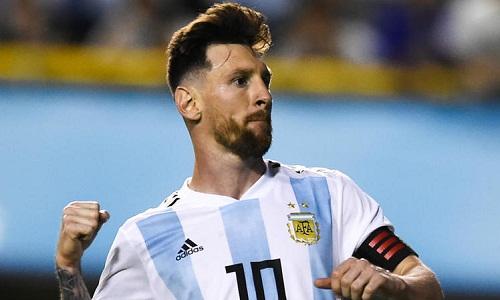 Messi được kỳ vọng sẽ dẫn dắt Argentina đến chức vô địch World Cup. Ảnh: AP.