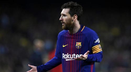 Messi là ngôi sao số một trong đội hình Barca suốt một thập niên qua. Ảnh: Reuters.