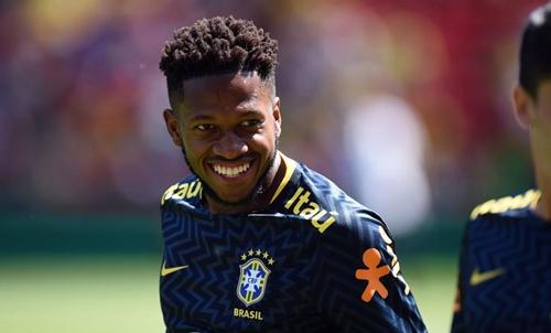 Fred là tân binh đầu tiên của Man Utd trong hè 2018. Ảnh: Reuters.