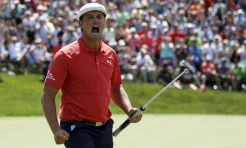 Bryson DeChambeau lần thứ hai vô địch PGA Tour, nhận 1,6 triệu đôla tiền thưởng và 70 điểm thưởng. Ảnh: Newswav.
