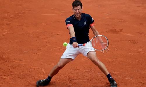 Thiem được kỳ vọng sẽ có bước tiến tại Roland Garros năm nay sau hai lần liên tiếp vào bán kết. Ảnh: AFP.