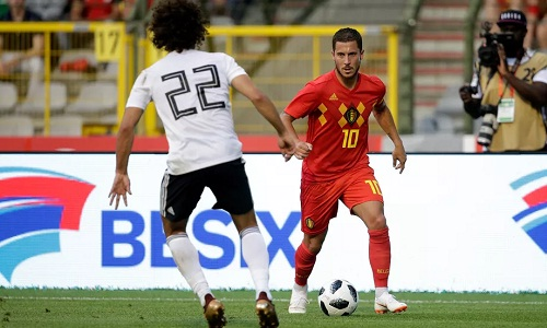 Hazard tỏa sáng, Bỉ thắng đậm Ai Cập