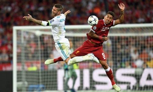 Firmino cho rằng Ramos nói chuyện như một kẻ ngốc. Ảnh: AFP.