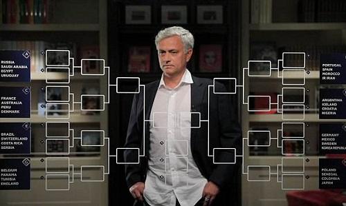Mourinho dự đoán kết quả vòng bảng World Cup. Ảnh: